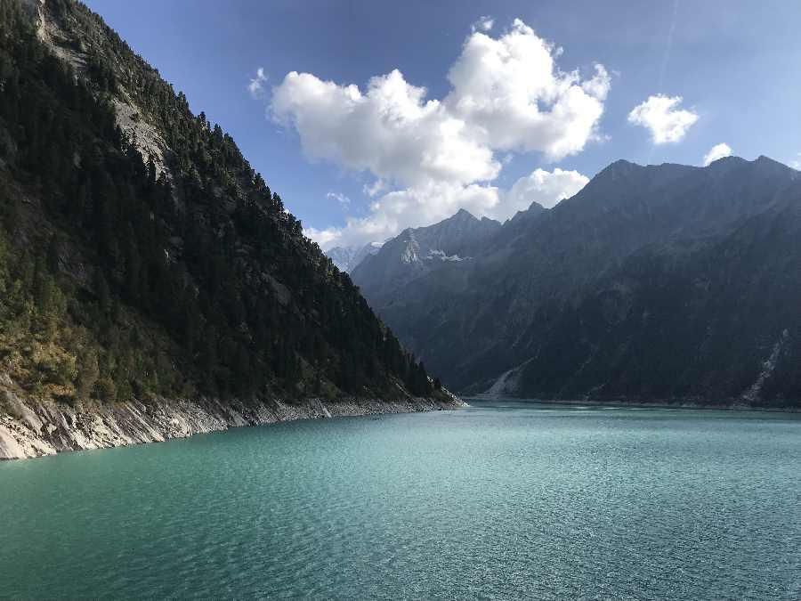 Mayrhofen Sehenswürdigkeiten im Zillertal: Der Schlegeisspeicher