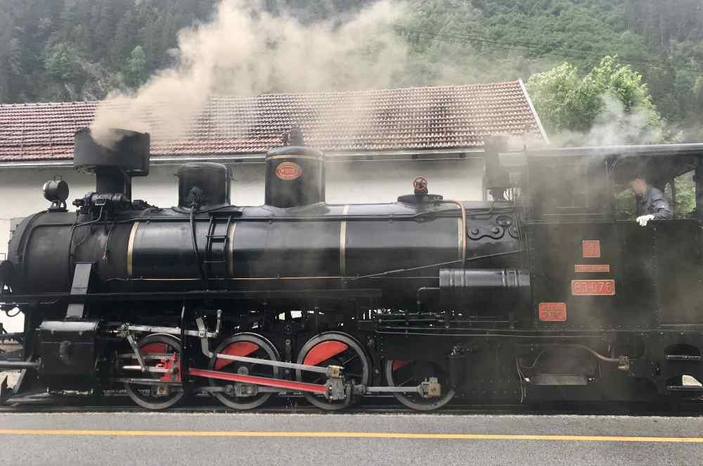 Mayrhofen Sehenswürdigkeiten - der Zillertal Dampfzug