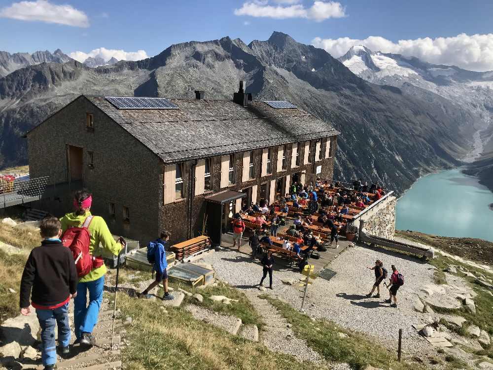 Mayrhofen Zillertal Sehenswürdigkeiten - am Schlegeisspeicher wandern