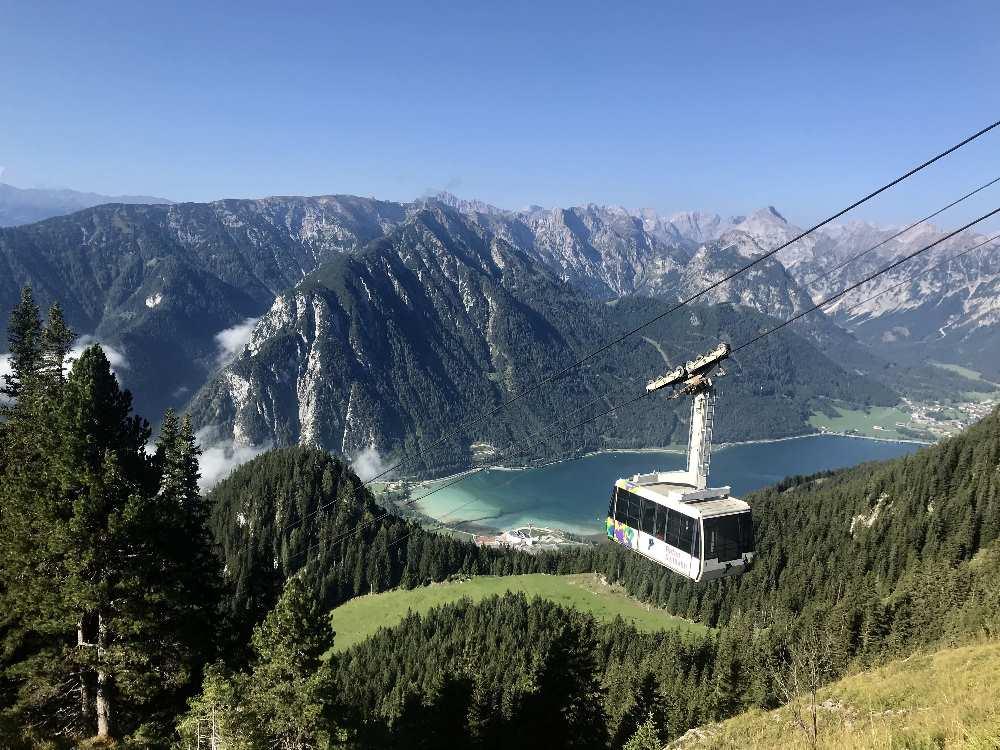 Sehenswürdigkeiten Achensee - die Rofanseilbahn