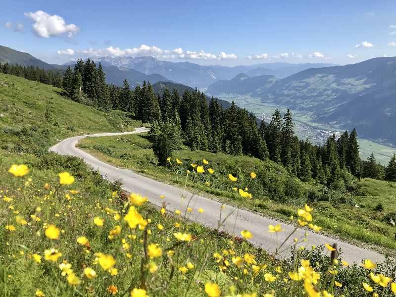 Sehenswürdigkeiten Fügen Umgebung - Zillertaler Höhenstrasse