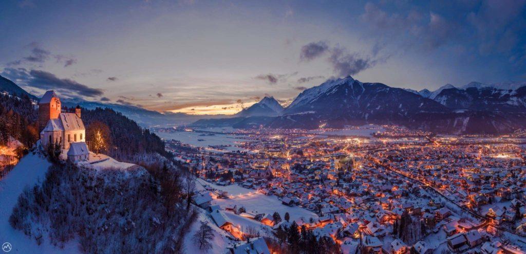 Schwaz in Tirol - wenn der Winter seine Pracht zeigt, Foto: Tom Pfister