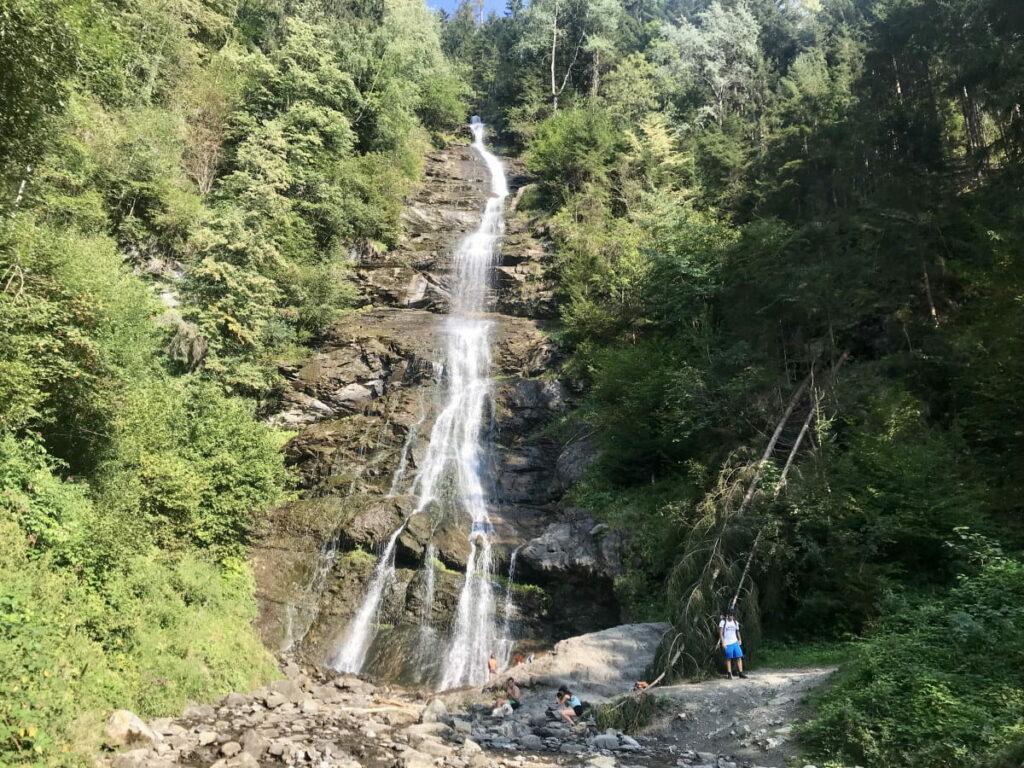 Tolle Natur in Fügen im Zillertal - beim Schleierfall